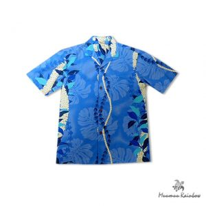 AL043B Ray Monstera Print Shirts