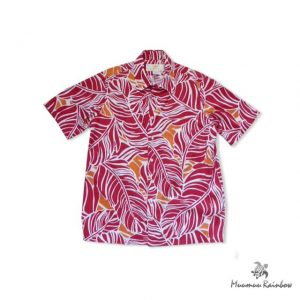 AL012 Red Leaf Shirt
