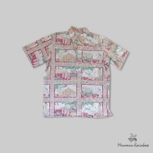 AL017 Hawaiian Scenery Shirt