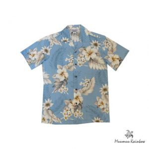 AL038B Cotton Hibiscus Shirts