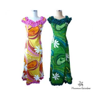 H020-T Tiare Flower Dress