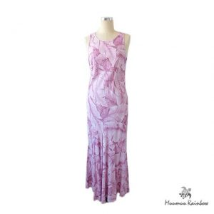 PR010 Pink Leafy Dress