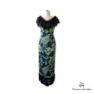 PR012 Black Lace Dress