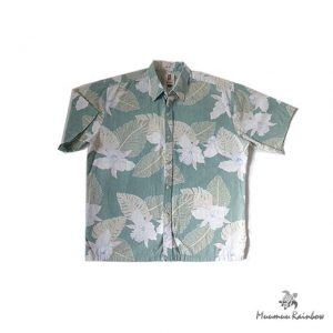 AL002 Leef & Flower Pattern Shirt