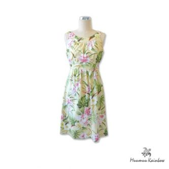 H005 Hawaiian Print Dress