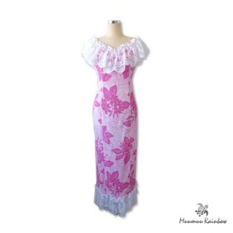 PR008 Pink and Lace Dress
