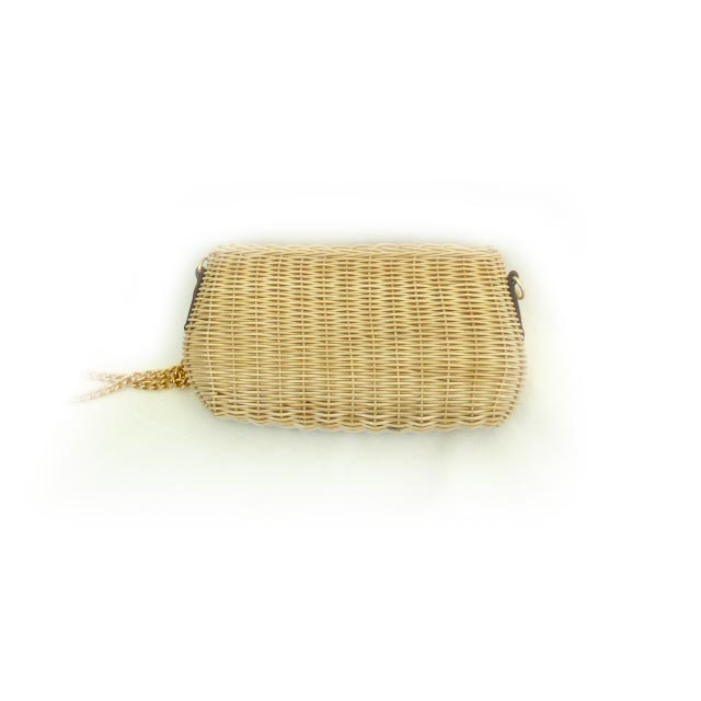 BG013 Wicker Shoulder Small Bag