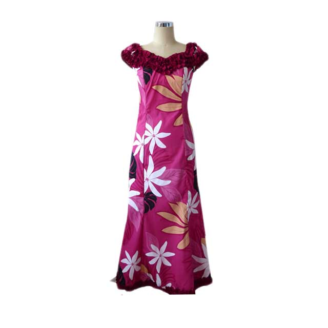 H056-P Spider Lily Pink Dress