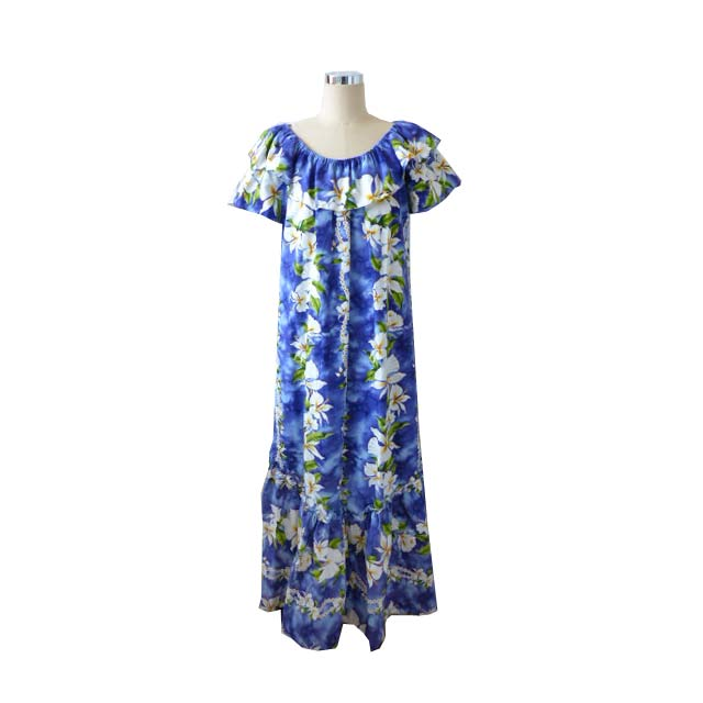 OR022 Purple Ginger Muumuu