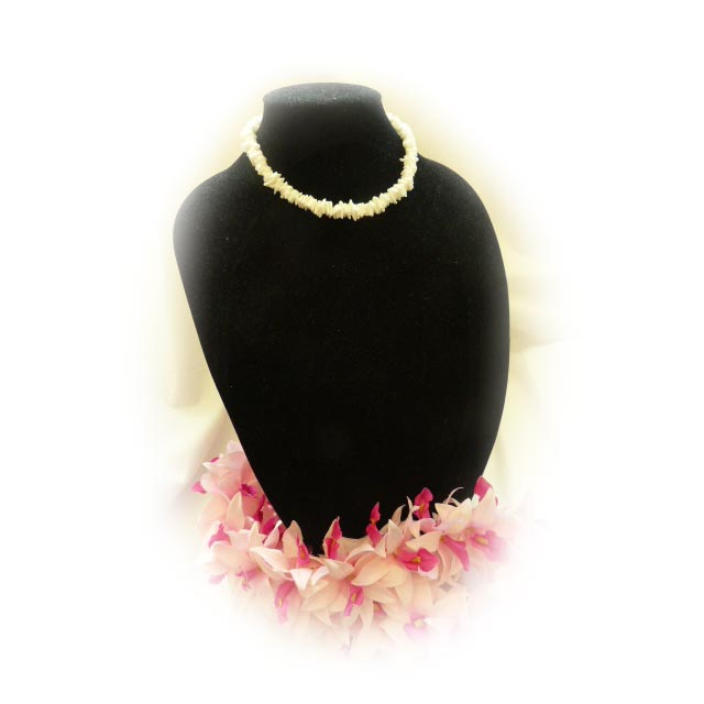 N003 White Shell Necklace