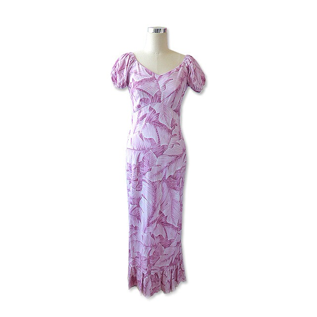 PR020 Pink leafy Dress